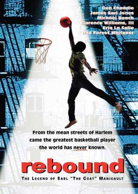Rebound: The Legend of Earl 'The Goat' Manigault - 11 x 17 Movie Poster - Style A