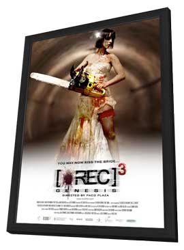 [REC] 3: Genesis - 11 x 17 Movie Poster - Style B - in Deluxe Wood Frame
