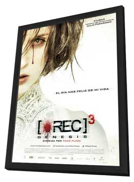 [REC] 3: Genesis - 11 x 17 Movie Poster - Spanish Style A - in Deluxe Wood Frame