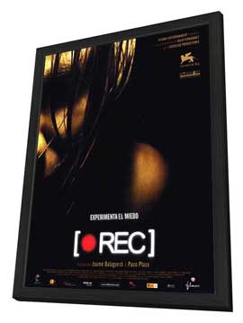 REC - 27 x 40 Movie Poster - Spanish Style A - in Deluxe Wood Frame