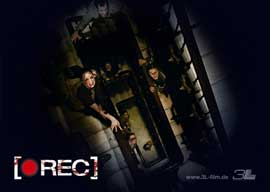 REC - 27 x 40 Movie Poster - German Style E