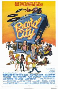 Record City - 11 x 17 Movie Poster - Style A
