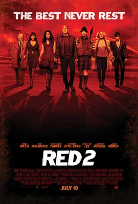 RED 2 - 11 x 17 Movie Poster - Style A