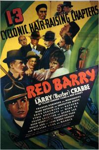 Red Barry - 11 x 17 Movie Poster - Style B