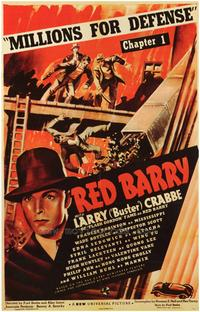 Red Barry - 43 x 62 Movie Poster - Bus Shelter Style A