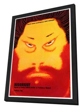 Red Beard - 27 x 40 Movie Poster - Foreign - Style A - in Deluxe Wood Frame