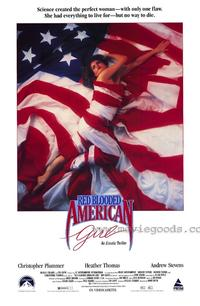 Red Blooded American Girl - 27 x 40 Movie Poster - Style A