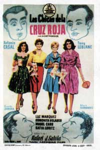 Red Cross Girls - 11 x 17 Movie Poster - Spanish Style A