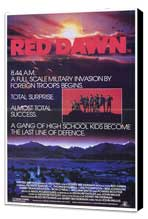 Red Dawn - 27 x 40 Movie Poster - Style B - Museum Wrapped Canvas