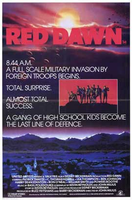 Red Dawn - 11 x 17 Movie Poster - Style B