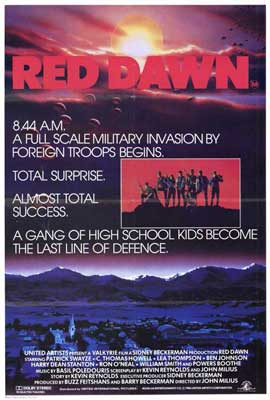 Red Dawn - 27 x 40 Movie Poster - Style B