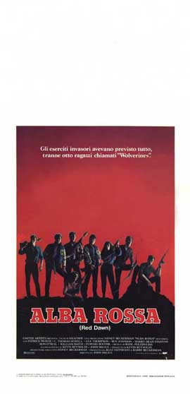Red Dawn - 13 x 28 Movie Poster - Italian Style A