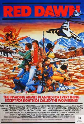 Red Dawn - 27 x 40 Movie Poster - Style C