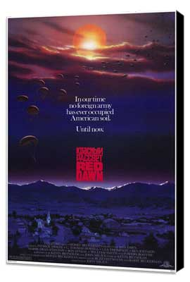 Red Dawn - 27 x 40 Movie Poster - Style A - Museum Wrapped Canvas
