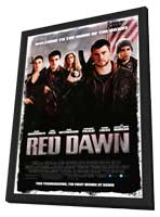 Red Dawn - 27 x 40 Movie Poster - Style A - in Deluxe Wood Frame