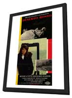 Red Desert - 27 x 40 Movie Poster - Italian Style A - in Deluxe Wood Frame