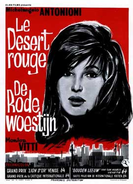 Red Desert - 11 x 17 Movie Poster - Belgian Style A