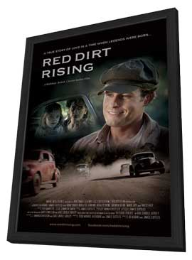 Red Dirt Rising - 27 x 40 Movie Poster - Style A - in Deluxe Wood Frame