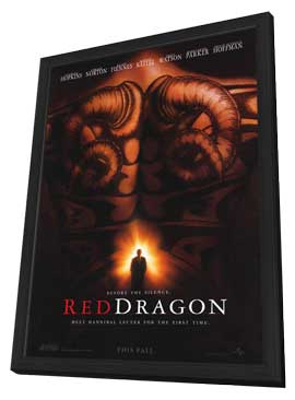 Red Dragon - 11 x 17 Movie Poster - Style A - in Deluxe Wood Frame