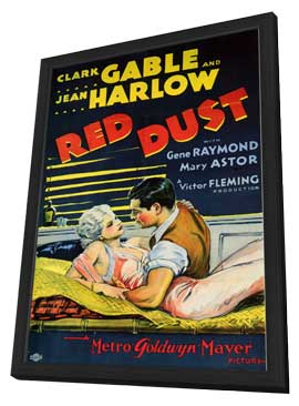 Red Dust - 11 x 17 Movie Poster - Style B - in Deluxe Wood Frame