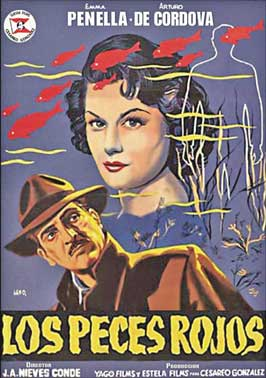 Red Fish - 11 x 17 Movie Poster - Spanish Style A