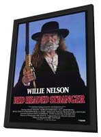 Red Headed Stranger - 11 x 17 Movie Poster - Style A - in Deluxe Wood Frame