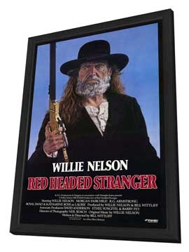 Red Headed Stranger - 27 x 40 Movie Poster - Style A - in Deluxe Wood Frame