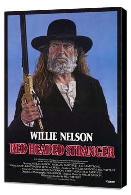 Red Headed Stranger - 27 x 40 Movie Poster - Style A - Museum Wrapped Canvas