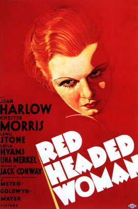 Red-Headed Woman - 11 x 17 Movie Poster - Style A