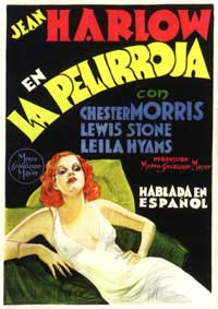 Red-Headed Woman - 11 x 17 Movie Poster - Spanish Style A