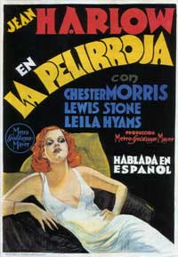 Red-Headed Woman - 43 x 62 Movie Poster - Spanish Style A