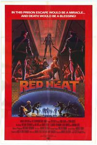 Red Heat - 11 x 17 Movie Poster - Style B