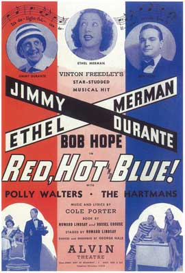 Red, Hot And Blue (Broadway) - 14 x 22 Poster - Style A