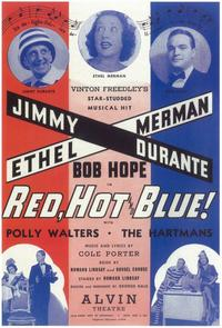Red, Hot And Blue (Broadway) - 11 x 17 Poster - Style A