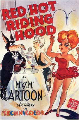 Red Hot Riding Hood - 11 x 17 Movie Poster - Style A