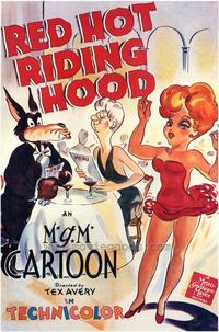 Red Hot Riding Hood - 43 x 62 Movie Poster - Bus Shelter Style A