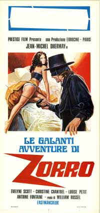 Red Hot Zorro - 13 x 28 Movie Poster - Italian Style A