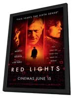 Red Lights - 11 x 17 Movie Poster - Style A - in Deluxe Wood Frame