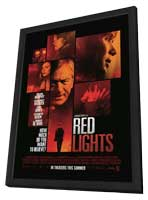 Red Lights - 11 x 17 Movie Poster - Style F - in Deluxe Wood Frame