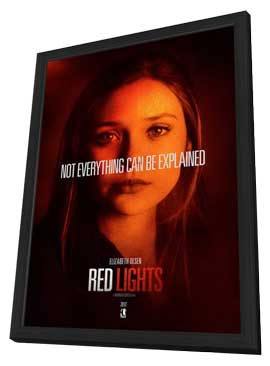 Red Lights - 11 x 17 Movie Poster - Style B - in Deluxe Wood Frame