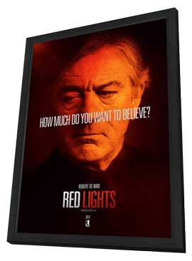 Red Lights - 11 x 17 Movie Poster - Style C - in Deluxe Wood Frame