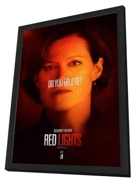 Red Lights - 11 x 17 Movie Poster - Style D - in Deluxe Wood Frame