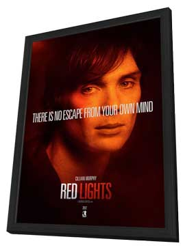 Red Lights - 11 x 17 Movie Poster - Style E - in Deluxe Wood Frame