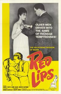 Red Lips - 27 x 40 Movie Poster - Style A