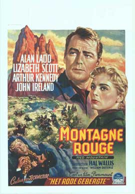 Red Mountain - 14 x 22 Movie Poster - Belgian Style A
