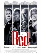 Red - 27 x 40 Movie Poster - French Style A