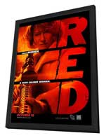 Red - 27 x 40 Movie Poster - Style C - in Deluxe Wood Frame