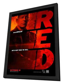 Red - 27 x 40 Movie Poster - Style A - in Deluxe Wood Frame