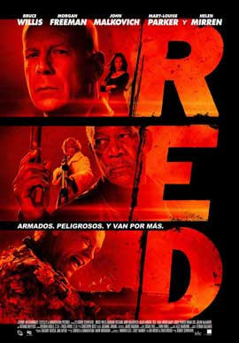 Red - 11 x 17 Movie Poster - Columbia Style A