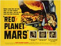 Red Planet Mars - 11 x 17 Movie Poster - UK Style A